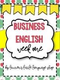Business English Week 1