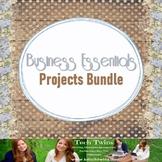 Business Projects Bundle- Advertising, Entrepreneurship, E