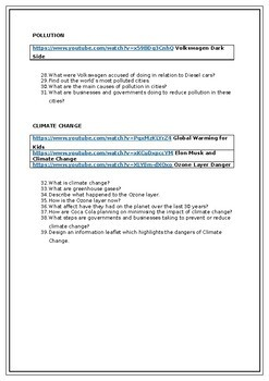 Business Ethics Pupil Worksheet