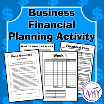 Business Financial Planning Activity