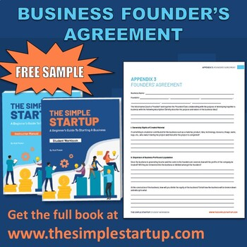 Business Founder's Agreement | FREE DOWNLOAD