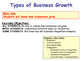 Business Growth - Takeovers, Mergers & Integration - Growing Firms