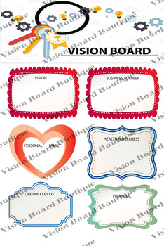 Business / Health / Financial Strategy Vision Board