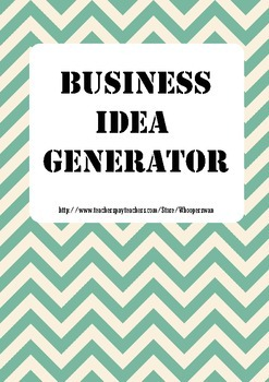 Business Idea Generator