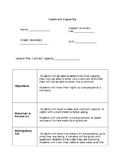 Business Law: Contract Law Lesson Plan