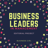 Business Leaders in Management Editorial Project
