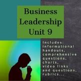 Business Leadership - Unit 9 (ILC)