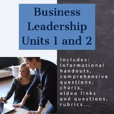 Business Leadership - Units 1 and 2 (ILC)