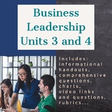 Business Leadership - Units 3 and 4 (ILC)
