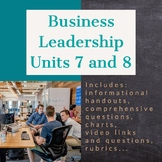 Business Leadership - Units 7 and 8 (ILC)