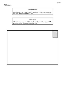 Business Letter Assignment - Grade 9