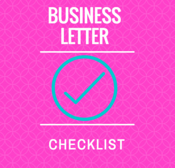 Business Letter Checklist