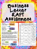 Business Letter RAFT Assignment
