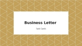 Business Letter Task/Trivia Cards ALBERTA CURRICULUM/ PAT