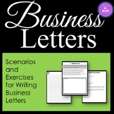 Business Letter Unit - Printable Workbook
