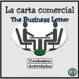 Business Letter Writing Activity - Actividad de la carta comercial