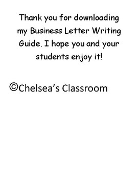 Business Letter Writing Guide