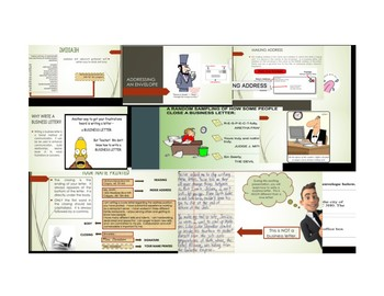 Business Letter Writing PowerPoint Presentation