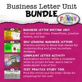 Business Letter Writing Unit BUNDLE