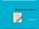 Business Letters and Envelope Powerpoint Presentation/Albe