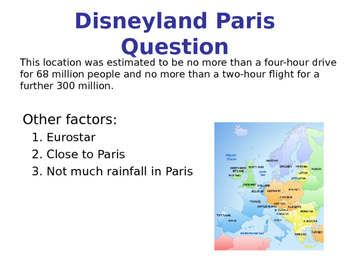 Business Location - Factors of Locating a Business - Map Task & PPT