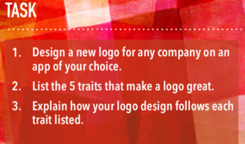 Design a Business Logo - Intro Lesson w/ Keynote, Guided Notes, Activity & Key