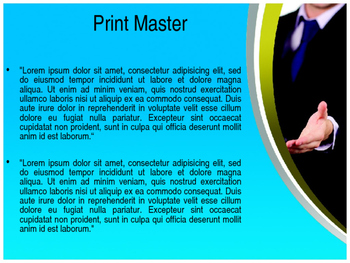 Business Manners PPT Template