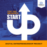 Business Marketplace Entrepreneurship Digital Design Project for Middle & High