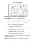 Business Math - Using a Business Calculator
