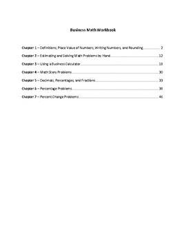 Complete Business Math Textbook/Workbook