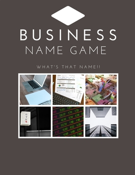 Business Name Game