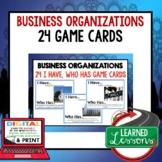 Business Organizations GAME CARDS, Test Prep, Print & Digi