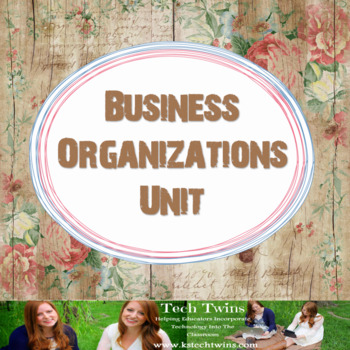 Business Organizations Unit