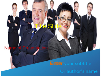 Business People PPT Template