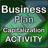 Business Plan Capitalization Activity