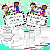 Business Plan Bundle- 2 Business Plan Research Guides for