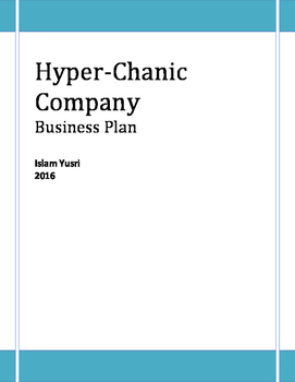 Business Plan Hyper-Chanic Company