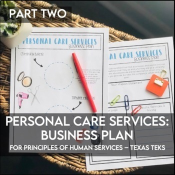 Business Plan: Personal Care Industry