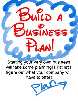 Business Plans for Little Beginners - Quick Unit