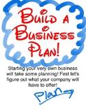 Business Plans for Little Beginners - Quick Unit