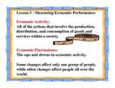Business Principles - Lesson 3: Measuring Economic Performance