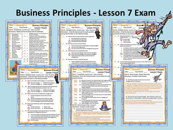 Business Principles - Lesson 7 Exam