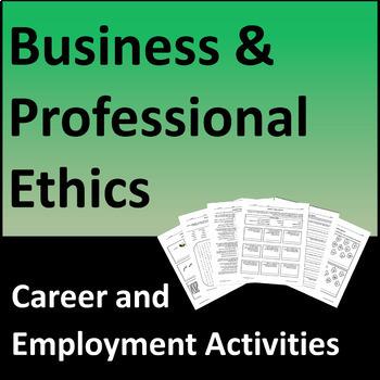 Business & Professional Ethics Activities, Career Development