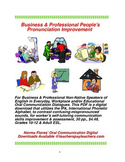 Business & Professional People's Pronunciation Improvement