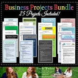 Business Projects Bundle- Grades 9-12