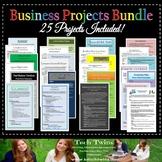 Business Projects Bundle- Grades 9-12