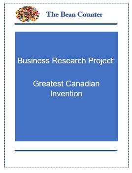Business Research Project: Greatest Canadian Invention