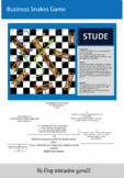 Business Snakes and ladders