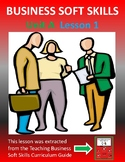 **PREVIEW** Business Soft Skills  Unit A  Lesson 1
