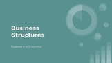 Business Structure PowerPoints